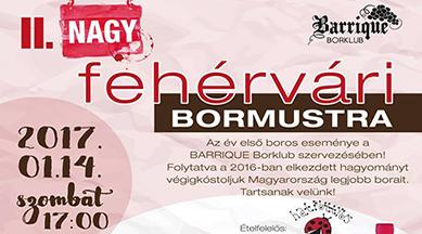 Fehérvári bormustra